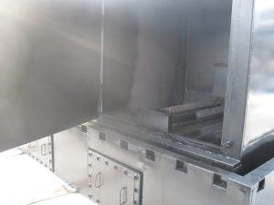 Плавление фасованного битума, установка, реальный вид