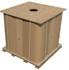 Среднетоннажный контейнер Clovertainer емкостью 1000 литров