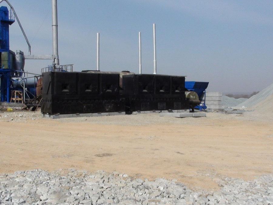 Плавильный комплекс из двух установок ПЛС-31.